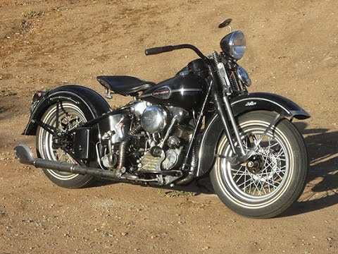 1942 Harley Davidson Knucklehead - FOR SALE - YouTube