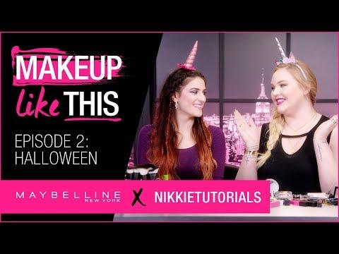 Make Halloween Happen Episode 2   Maybelline New York + NikkieTutorials