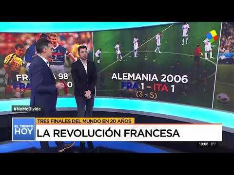 La revolución francesa de fútbol: 3 finales en 20 años
