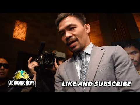 Manny Pacquiao: Spence/Broner beef, Leaving BOB ARUM is just business , wasn't getting big fights!