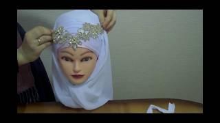 Как завязать платок на никах.