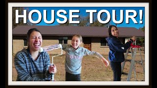 NEW HOUSE TOUR!  |  IT NEEDS WORK!