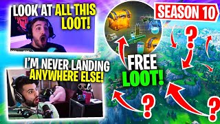 The *BEST* Location To Land In Season 10! IT HAS SO MUCH LOOT! Ft. SypherPK