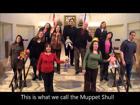 Holy Blossom Temple: The Muppet Shul