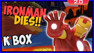 Disney Infinity 2 Toy Box Adventures! Iron Man Dies?
