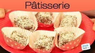Recette marocaine facile: gâteaux sans cuisson
