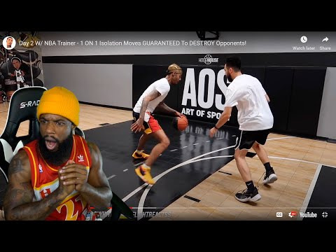 FLIGHT GOT BETTER!?! Day 2 w/ NBA Trainer - 1 ON 1 Isolation Moves GUARANTEED To Destroy Opponents!