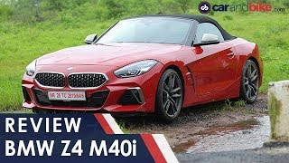 BMW Z4 M40i Review | NDTV carandbike
