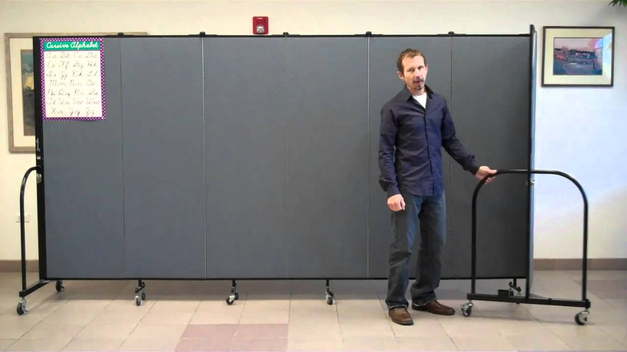 How to Make Curved Walls With Screenflex Room Dividers YouTube