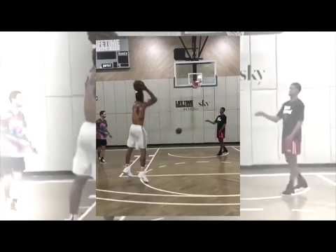 Knicks' Michael Beasley Putting in Work in NYC! 👀  [IG@Cbrickley603]