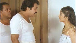 ദേ പറഞ്ഞിട്ട് പോയതുപോലെ തുണി ഇല്ലാതെ വന്നു നിൽക്കുന്നു   Vietnam Colony Movie scene   Mohanlal  