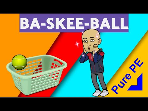 Ba-skee-ball - PE at Home