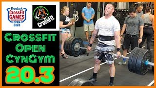 CYNGYM 20.3 CROSSFIT OPEN!!!