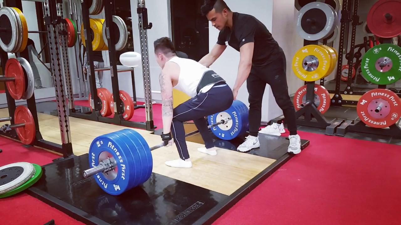 Marc 180kg Deadlift PB