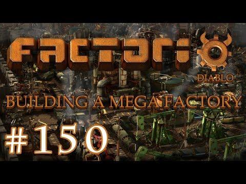 Factorio - Building a Mega Factory: Part 150 Building some circuit logic into a train station.