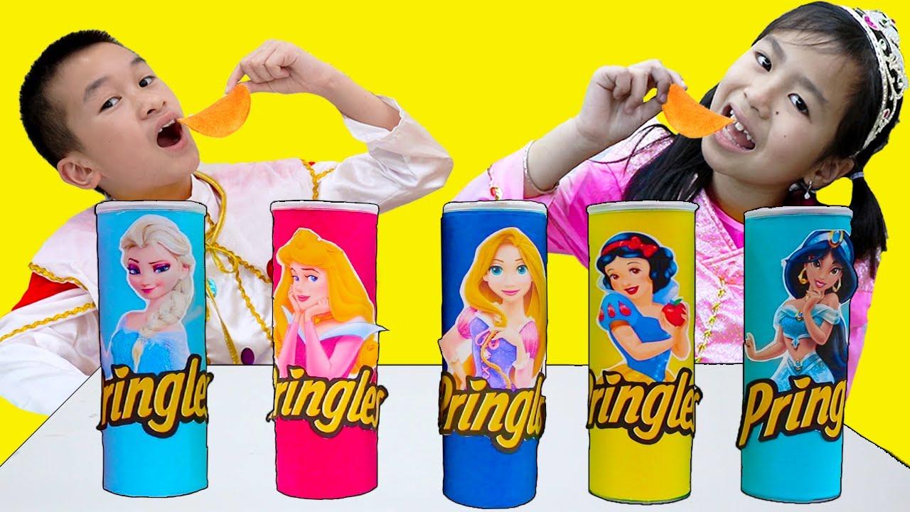 Download Princess Magic Song   Jannie & Andrew Pretend Play Nursery Rhymes Sing-Along Kids Songs