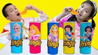 Princess Magic Song | Jannie & Andrew Pretend Play Nursery Rhymes Sing-Along Kids Songs
