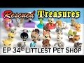 Rescued Treasures ♥︎ EP34 - Littlest Pet Shop LPS - Awesome Rare Pets!
