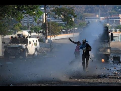 مقتل امرأة خلال تظاهرة ضد مادورو في كراكاس