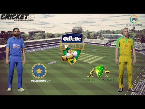 India Vs Australia Match 2 - ODI Tri Series - Cricket 19 Live