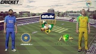 India vs Australia Match 2 - ODI Tri Series - Cricket 19 Live
