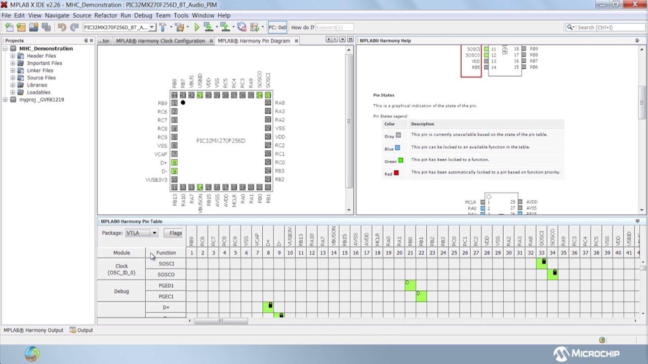 MPLAB® Harmony Configurator