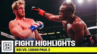 HIGHLIGHTS | KSI vs. Logan Paul 2 Video