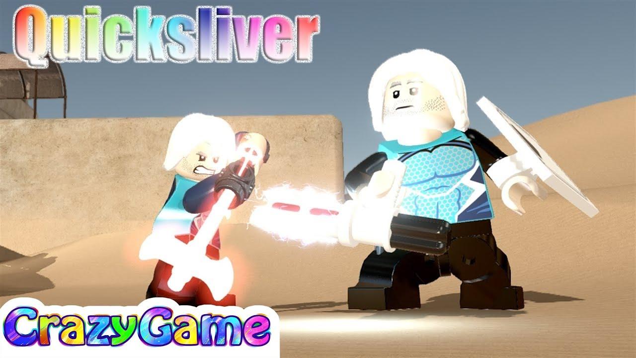 lego quicksliver free roam  lego star wars tfa mod  youtube