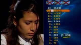 Jessica Cedeño se llevó $25000 en el penúltimo y más emocionante programa de QQSM