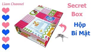 How to make secret box | DIY book box secret storage. Secret box making | Liam Channel