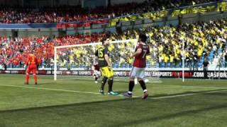 FIFA 12 (PC) Demo. Impact Engine at the weirdest of times? :P