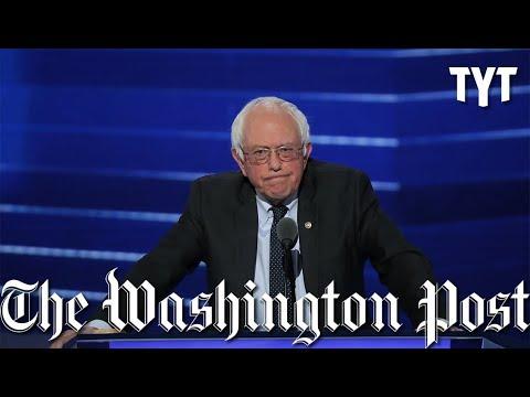 """Bernie Bro"" Litmus Test Slammed By Washington Post Op-Ed"
