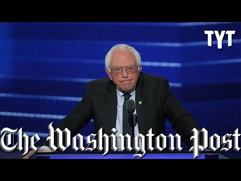 """Bernie Bro"" Litmus Test Slammed By Washington Post Op-Ed"
