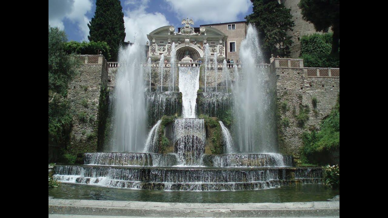 Fontana di nettuno e fontana dellorgano  villa deste