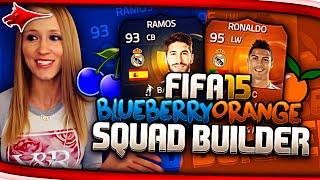 My Final Fifa 15 Squad Builder!! The Insane Orange Blueberry Squad!!!