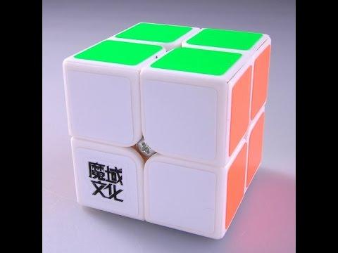 Сборка кубика 2x2 Второй слой