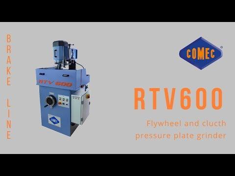 Flywheel And Clutch Pressure Plate Grinder - RTV600 Comec