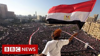 Egypt 10 years after the revolution - BBC News