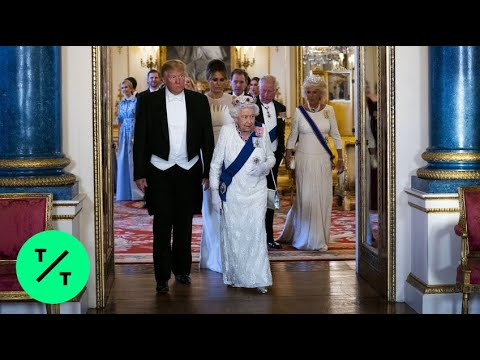 Trump Attends U.K. State Banquet at Buckingham Palace