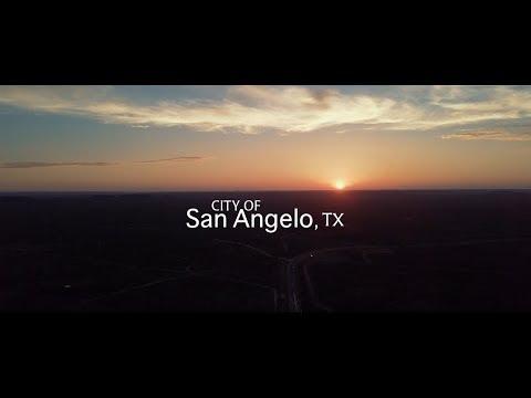 San Angelo Texas Drone Video