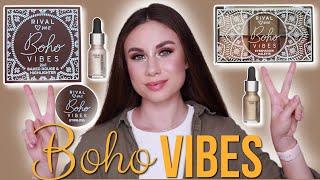Тестирую новинки косметики RIVAL loves me Boho VIBES Цены свотчи и макияж