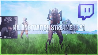 MATANDO FORTNITE TWITCH STREAMERS! (AMBOS PONTO DE VISTA)