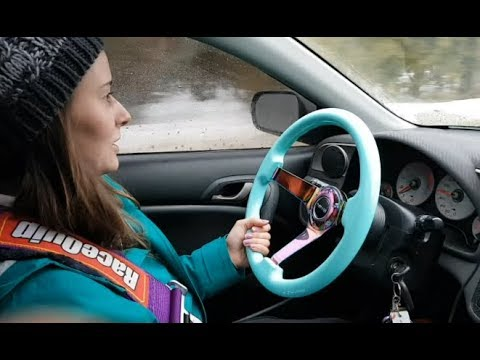 RSX NRG Steering Wheel & eBay Hub Install + Review