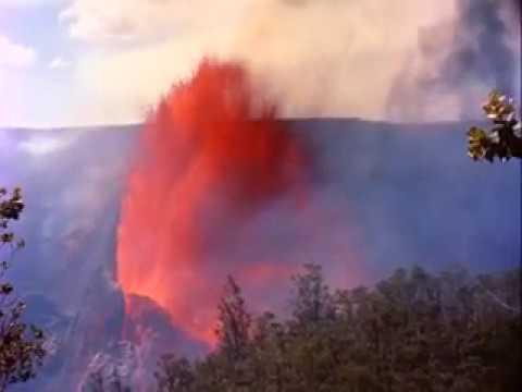 Active Volcano Eruptions