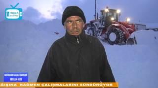 Tuşba Belediyesi 92 | sosyo-hizmet | fen işleri | karla mücadele (gedikbulak mahallesi) | 27.01.2016