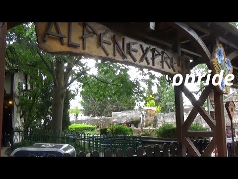 Alpenexpress Enzian - onride | Europapark Rust 2016