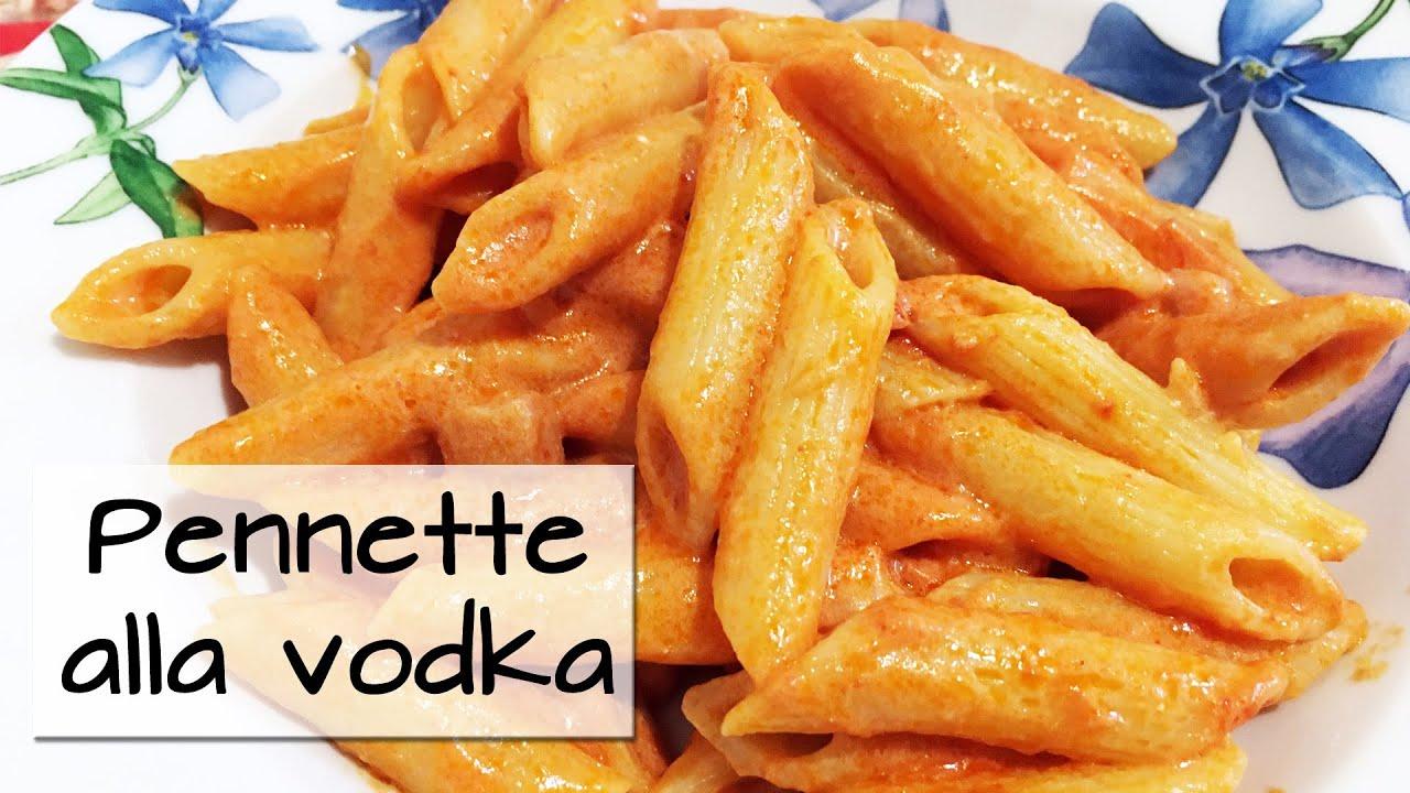PENNETTE ALLA VODKA - Speedy recipe