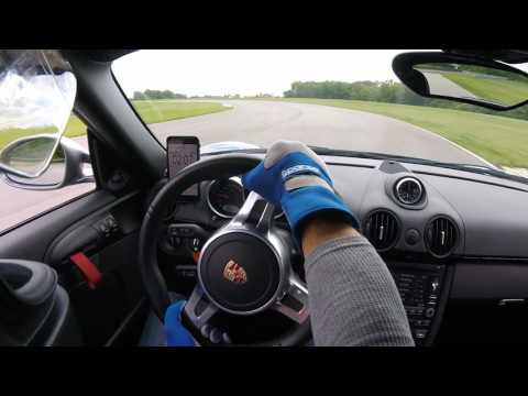 Porsche Cayman R 6MT - Autobahn Country Club Full Course July 24, 2017
