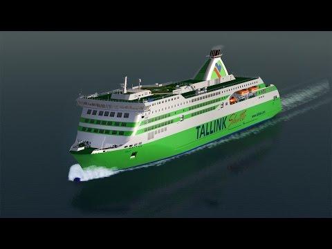 Tallink M/S Star ─ Vehicle Simulator
