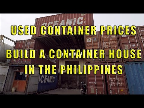 Used Container Prices In The Philippines.